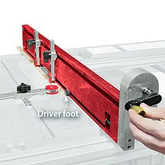 "Finger-saving tablesaw fence  Pushblocks and pushsticks work great at keeping hands away from a spinning tablesaw blade, but they can actually interfere when ripping narrow stock. The Safety Fence screws to your existing fence and lets you safely rip stock as narrow as 1/8""."