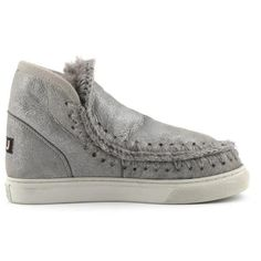 Mou Boots Mini Eskimo Sneaker Women Rock Metallic - MOU #mou #boots #mouboots #sneaker #women #fashion