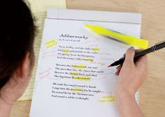 Grades 6-8: Poetry Workshop from Scholastic, some really good ideas here for poetry month