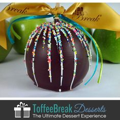 Come to the dark side and try our Dark Chocolate Caramel Apple...