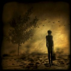 just visiting by Anja Buehrer