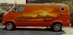 Dodge Van, Chevy Van, Customised Vans, Custom Vans, Old School Vans, Cool Vans, Vintage Vans, Car Show, Van Life