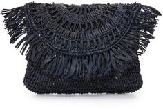 Mar Y Sol straw clutch.
