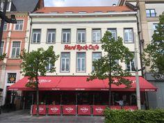 Sinds maart 2017 is er op de Groenplaats in Antwerpen een Hard Rock café #Antwerpen #Hardrockcafe