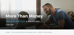 """For couples - """"Get to the core of how finances impact your relationships and how to define the meaning of money in your life"""" More Than Money Relationship Blogs, Relationships, Sparks Joy, Retirement Accounts, Personal History, Life Choices, World View, Managing Your Money, Money Matters"""