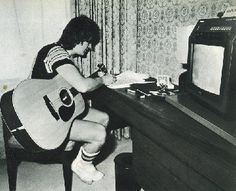 Eric Faulkner of the Bay City Rollers.