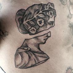 Tattoo by Andrea Losantos Madrid, Skull, Tattoos, Instagram Posts, Drawings, Tatuajes, Tattoo, Japanese Tattoos, A Tattoo