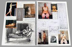A-Level sketchbook