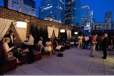 Epic Sky is the rooftop area of Epic Restaurant. Epic restaurant is upscale and has great food. The rooftop area is very upscale, and just like any other rooftop bar in Chicago unless you plan on getting bottle service get there very early or you won't have any luck getting in or getting a seat. They have an amazing view from the rooftop.