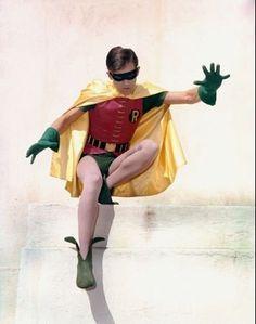 """Burt Ward as Robin in """"Batman"""", circa 1967."""
