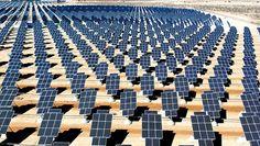 Les centrales photovoltaïques à concentration s'installent dans le désert