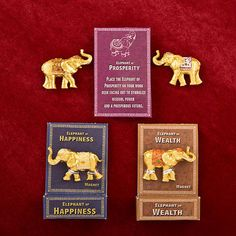 120 -  Lucky Elephant Key Magnets - Wedding Favors #Unbranded