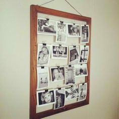 2 Divas and a Wife: Pinterest Rustic Photo Frame