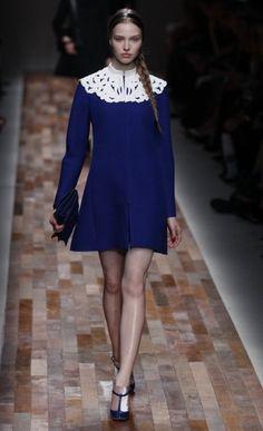 Sapphire blue: Valentino AW13