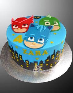 Προϊόν Pj Masks Birthday Cake, Toddler Birthday Cakes, 4th Birthday Cakes, Boy Birthday Parties, Birthday Ideas, Pj Mask Cupcakes, Pj Masks Cakes, Torta Pj Mask, Festa Pj Masks
