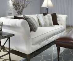 Norwalk Sofa, I like the tuft ingredients, not the arm height