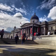 National Gallery in City of Westminster, Greater London London Tips, Trafalgar Square, Galleries In London, Greater London, Westminster, London England, Taj Mahal, Places To Go, Louvre