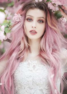 15 Modern Pink Hair Color Ideas for Long Hair 2018. See here the gorgeous pastel pink hair colors for you for hottest hair colors look in these days. You have to get ready for awesome hair look by wearing these best hair colors for long and medium haircuts in 2018. You just have browse this page for inspirational pink hair colors to apply with you hair looks to get these pink hair color trends.