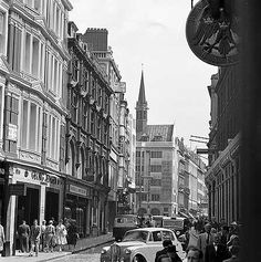New Bond Street • 1961 London History, Bond Street, Old London, Roads, Old Photos, Shops, England, Street View, Memories