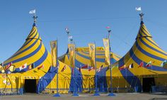 Anywhere Cirque du Soliel pitches its tent.