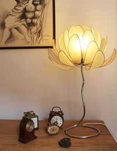 Lámparas de mesa - Rosa - hecho a mano por Dasca-design en DaWanda