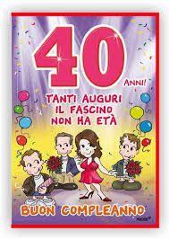 37 Fantastiche Immagini Su 40 Anni