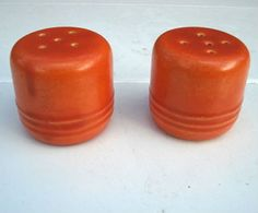 Tudor California Pottery shakers