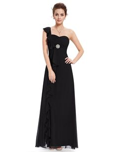 Ever Pretty Padded Ruffles Rhinestones Prom Gown Evening Dress 09503 ** Quickly view this special  product, click the image : Plus size evening gowns