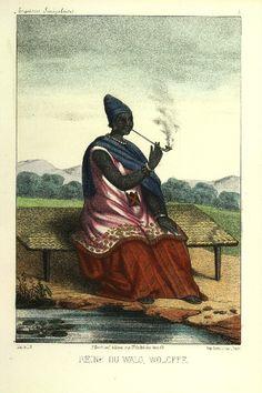 Yalla, Reine du Walo, en tenue royale