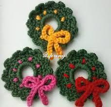 Resultado de imagen para crochet christmas applique patterns