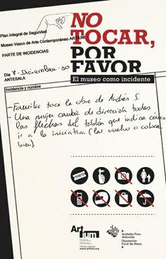 """#recomanacio """"No tocar, por favor"""". El libro http://wp.me/pZo8e-KX d Jorge Luís Marzo, també per descarregar en PDF #patrimoni #pinterest"""