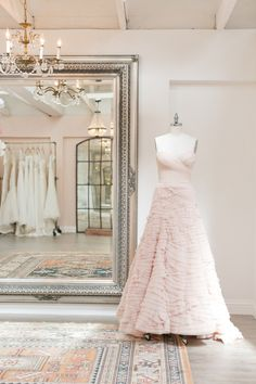 Research boutiques in the area: http://www.stylemepretty.com/2015/09/15/smp-blogger-bride-chloes-tips-for-out-of-town-dress-shopping-2/