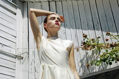 Monika Ratkovic Spring Summer Collection, Location Ada Lake, Belgrade, Model Milena S, 2013