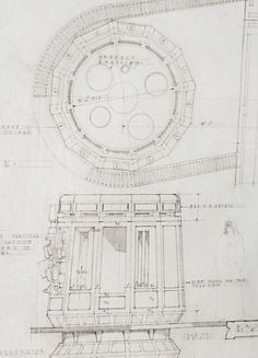 Star wars blueprints of r2d2 and c3po at jabba the hutts palace star wars blueprint of a inside the death star taken from the star wars blueprint book malvernweather Images