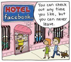 Hotel #Facebook