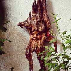 Cara de madera