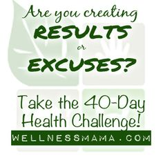 40 Day Challenge - What is Your Goal?
