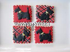 Scottie Dog Cookies