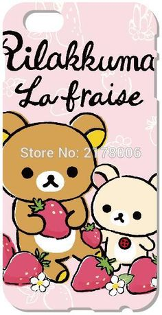 >> Click to Buy << Rilakkuma Mobile Phone Bags Cases For iphone 4 4S 5 5S SE 5C 6 6S 7 Plus For iPod Touch 4 5 6 Plastic Hard Cover Capa Coque #Affiliate