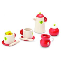 Love this Tea Break Set - much nicer than the typical plastic set...