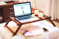 Chic standing lap desk/tray