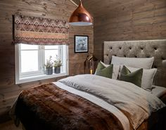 Halvor Bakke // Hytte Soverom Winter Lodge, Mountain Cottage, Rustic Interiors, Modern Rustic, Interior And Exterior, Kos, Relax, Inspiration, Furniture