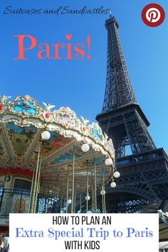 Tips and advice on how to plan an extra special trip to Paris with kids. Advice on choosing what to do and see, how to avoid queues, how to save money by getting the public bus around the best sights, which areas to spend most time in and where to stay. Tips on making the most out of your trip to Paris.