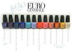 OPI Central Europe Collection