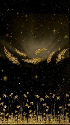 ** Black & gold