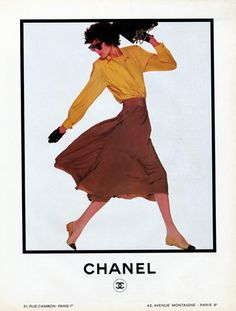 Ines de la Fressange (1986), exclusive model for Chanel between 1983 and 1989 #Chanel #Ines Visit espritdegabrielle.com | L'héritage de Coco Chanel #espritdegabrielle
