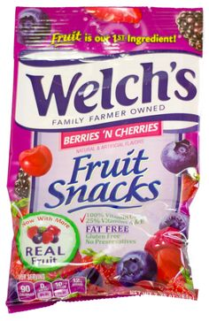 Welch's Berries 'N Cherries Fruit Snacks 2.25oz