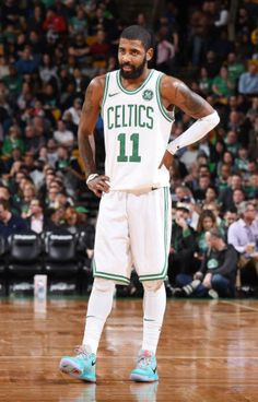 #KyrieIrving during the 2nd half of the #Celtics 24th win vs the nuggets. 24W-6L