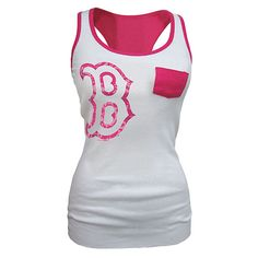 Boston Red Sox Ringer Racerback Tank  Was: $19.99*  Now: $14.97
