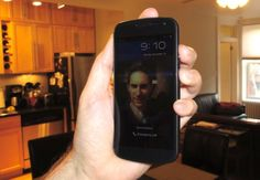 How to unlock an Android phone with your face